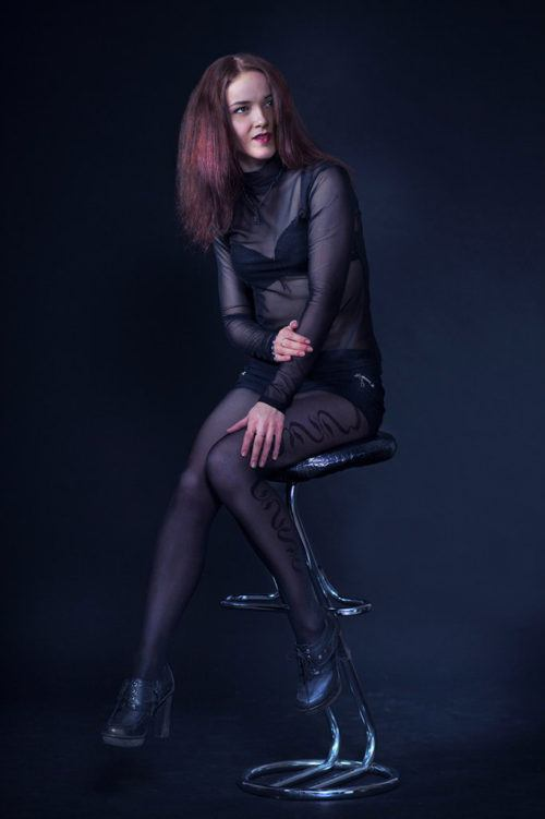 Фото девушки с фотосессии в Market Print